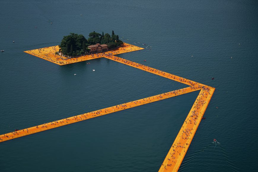 6_The Floating Piers_Christo and Jeanne Claude_Inspirationist
