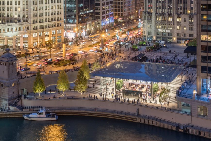 4_Apple Store Chicago_Foster+Partners_Inspirationist