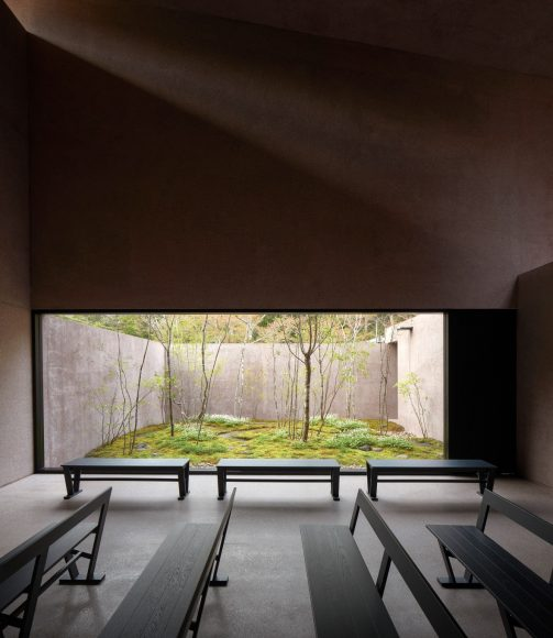 6_Inagawa Cemetery visitor centre & chapel_David Chipperfield Architects_Inspirationist