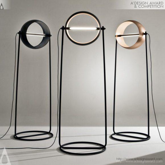 Globe Floor Lamp by Edoardo Colzani