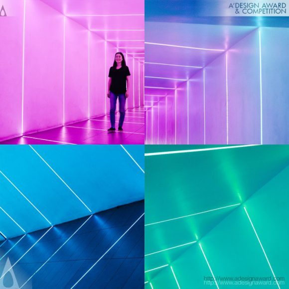 Portal Light Hallway by Akiko Yamashita