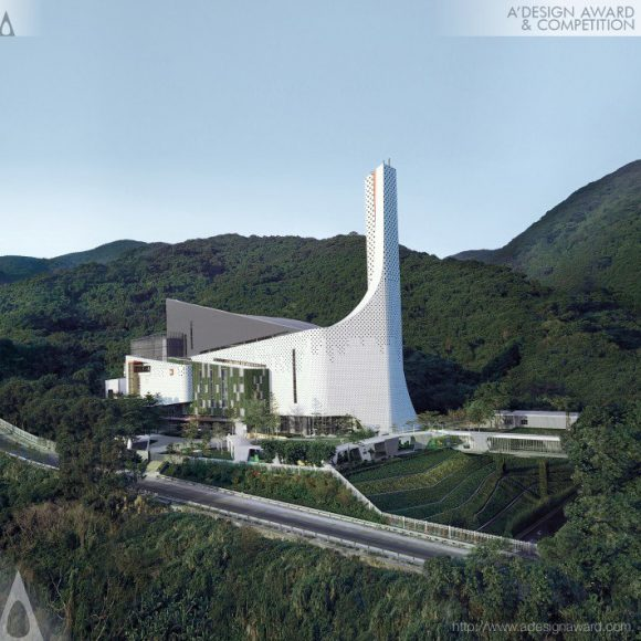 Shenzhen Energy Renovation Project Waste-to-Energy Power Plant by Peijun Ye, Tongtong Hui - Hayer Design