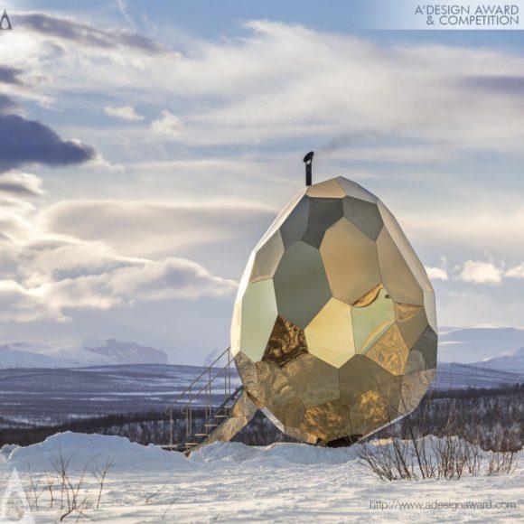 Solar Egg – More than a sauna Public sauna by Futurniture and Bigert & Bergström