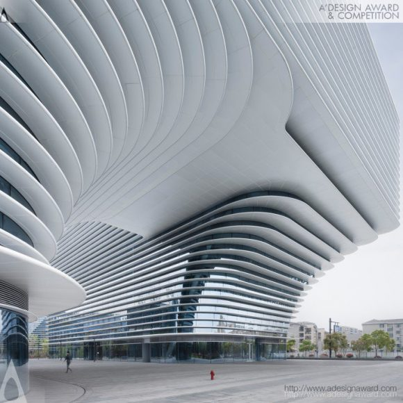 12_Xixi Center Office and Business Building by Meng Fanhao_Inspirationist
