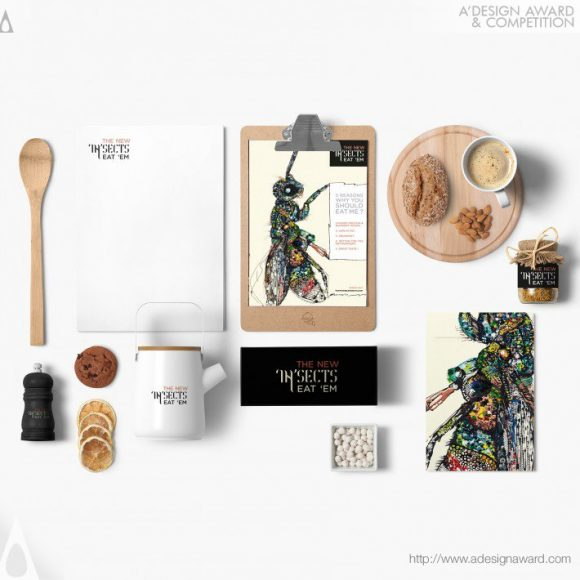 10_Edible Insects Food Packaging by GHADA WALI STUDIO