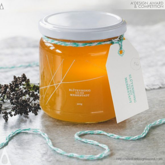 11_Honey of the Messestadt Packaging by Joel Derksen