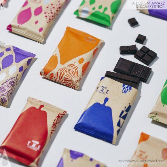 14_Meiji the Chocolate Sweets Packaging by Kimiko Ida