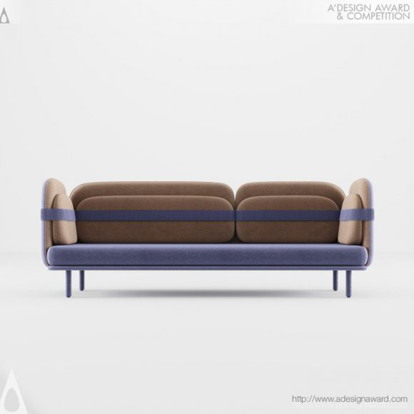 Bandage Sofa by Olga Bogdanova and Elena Prokhorova