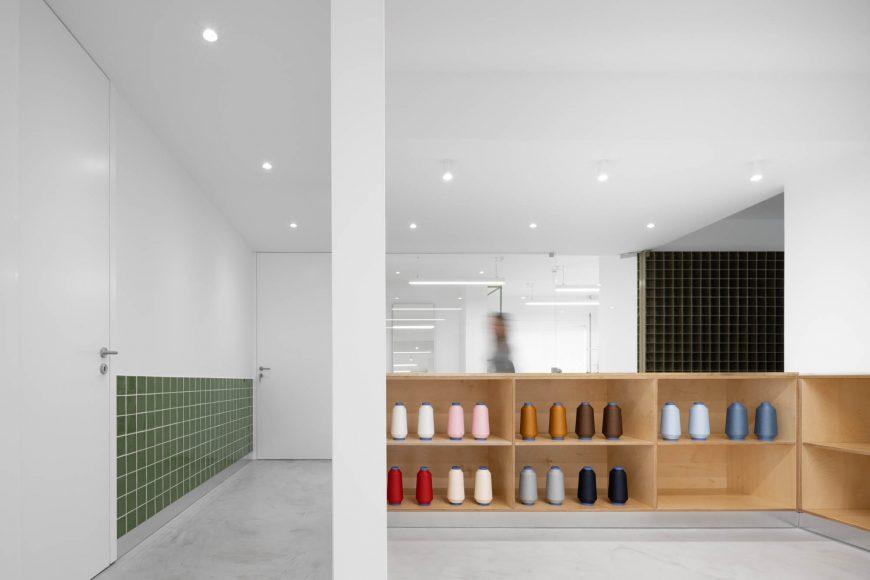 Lavandaria Morinha  em Vila Mea do atelier de arquitetura Stu.de