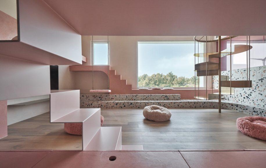 1_Cats' Pink House_KC Design Studio_Inspirationist