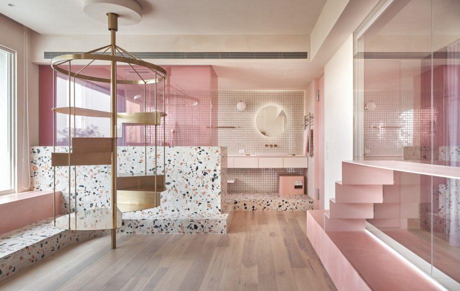 3_Cats' Pink House_KC Design Studio_Inspirationist