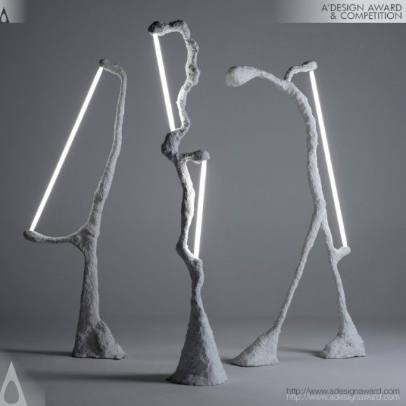 Aggregate Collection Lamp by CoCo Ree