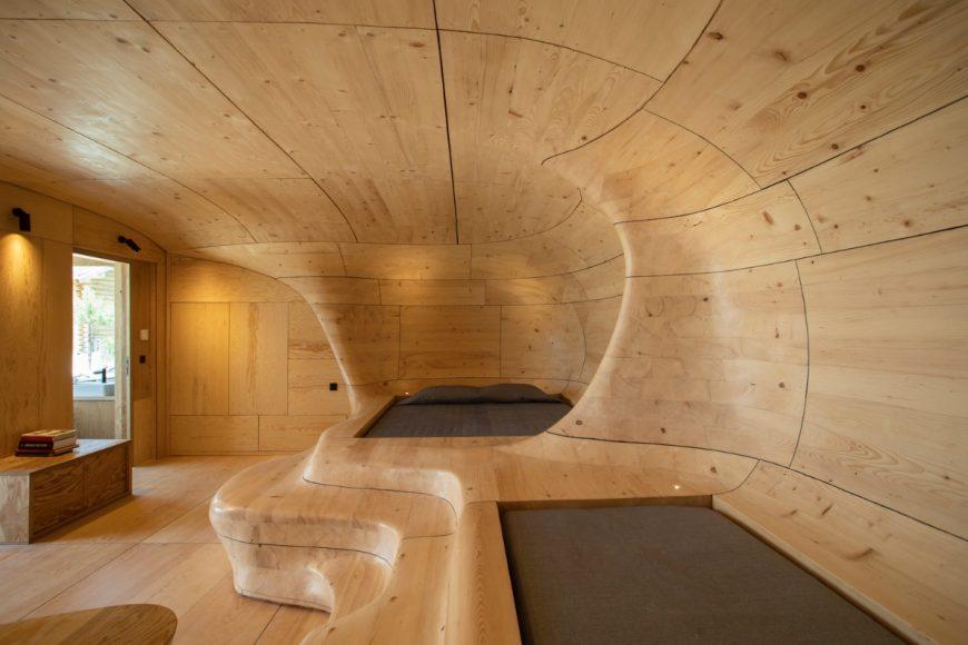 2_Wooden Cave_Tenon Architecture_Inspirationist