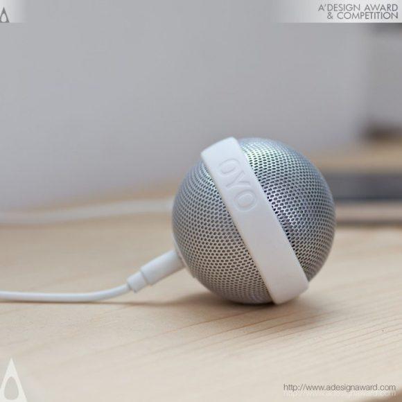 Ballo Portable Speaker by Bernhard Burkard