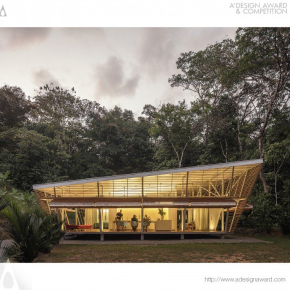 No Footprint House Residential Prototype by Oliver Schutte