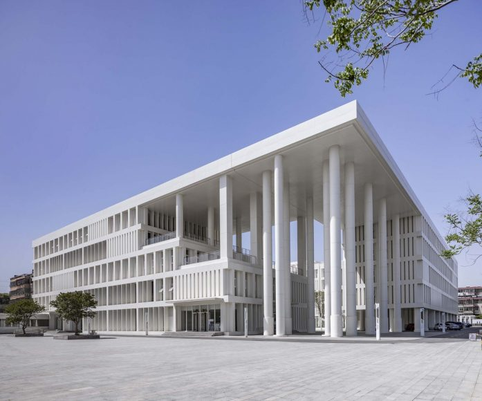 1_Yinan-Library-and-Archives_7-Studio-of-School-of-Architecture-at-CAFA_Inspirationist